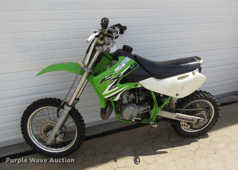 2002 Kawasaki KX65A3 dirt bike