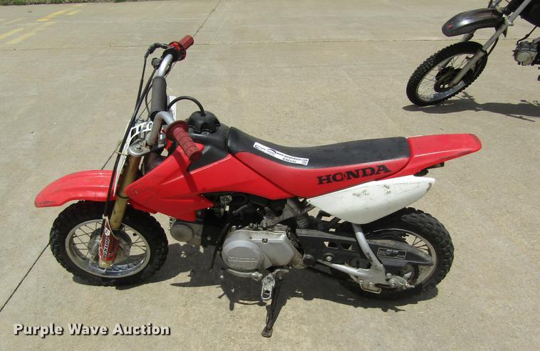 2004 Honda CRF50F4 dirt bike