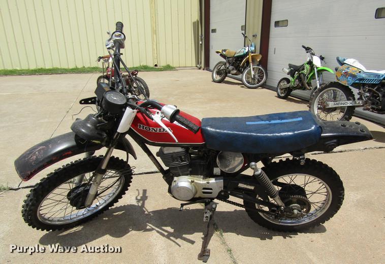1981 Honda XL100S dirt bike