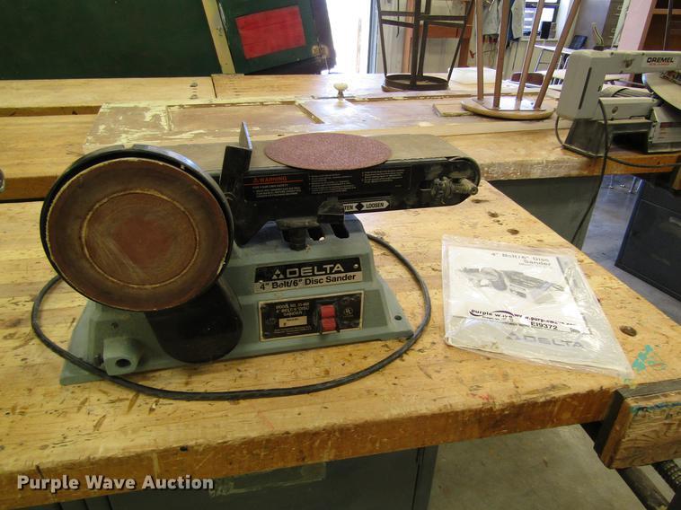 Delta 31-460 bench disc belt sander