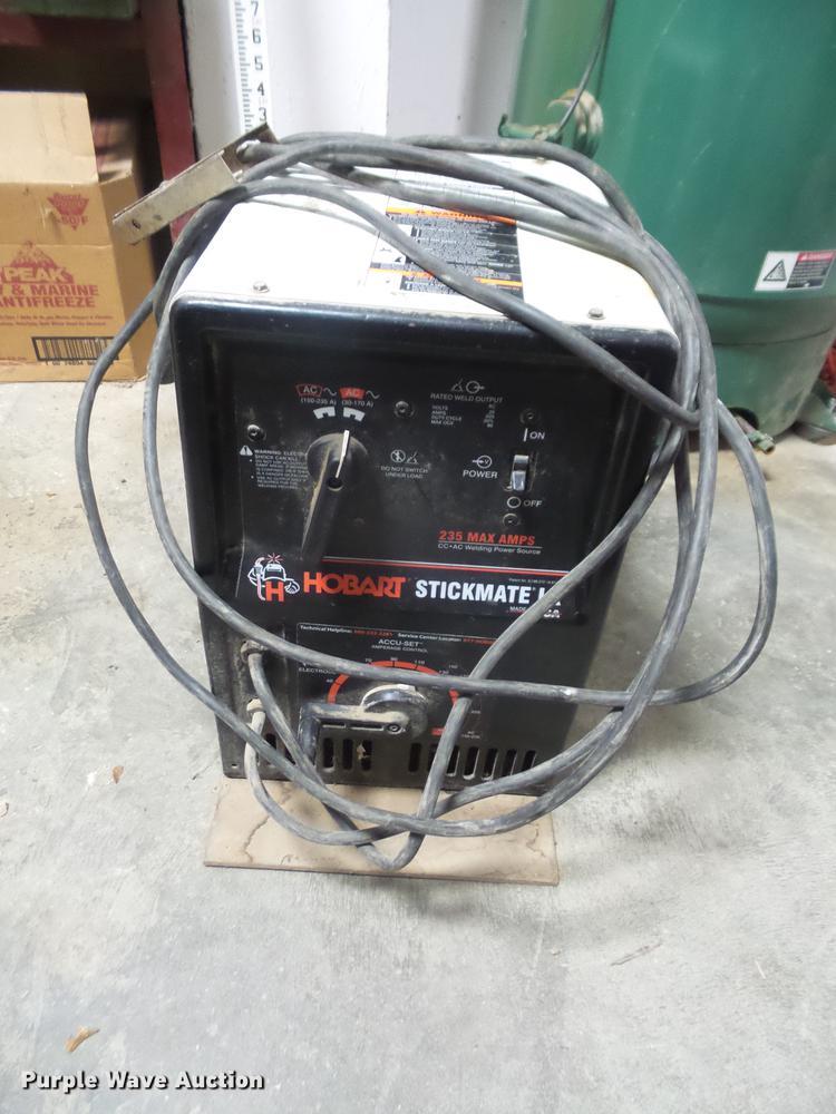 Hobart Stickmate LX welder