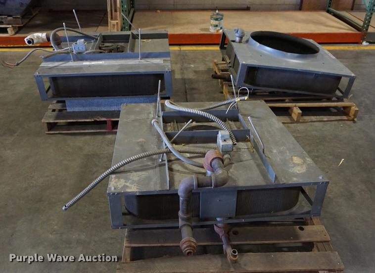 (3) Forced Air steam heaters