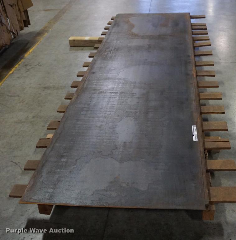 (14) 10' x 3' steel sheets