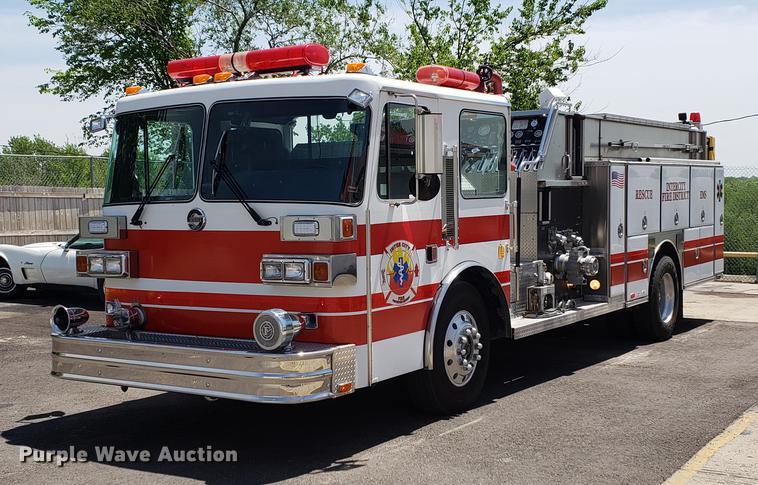 1991 E-one Sutphen Deluxe fire truck