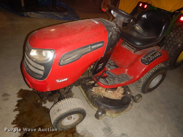 Craftsman YS4500 lawn mower