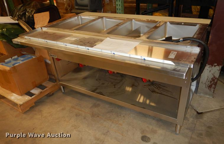Aerohot four well steam table