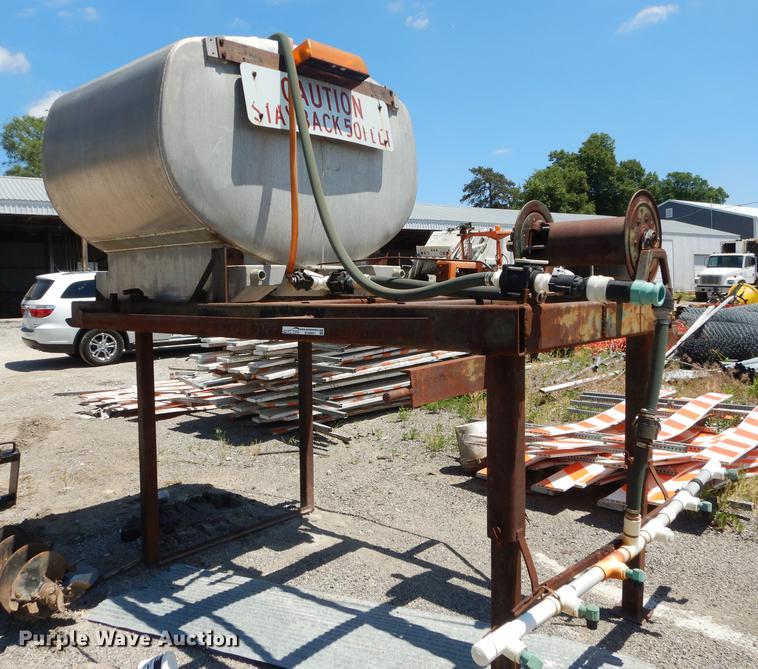 Stainless steel salt brine tank