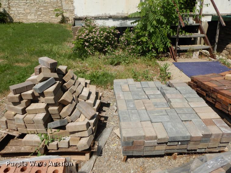 Approximately 350 pavers