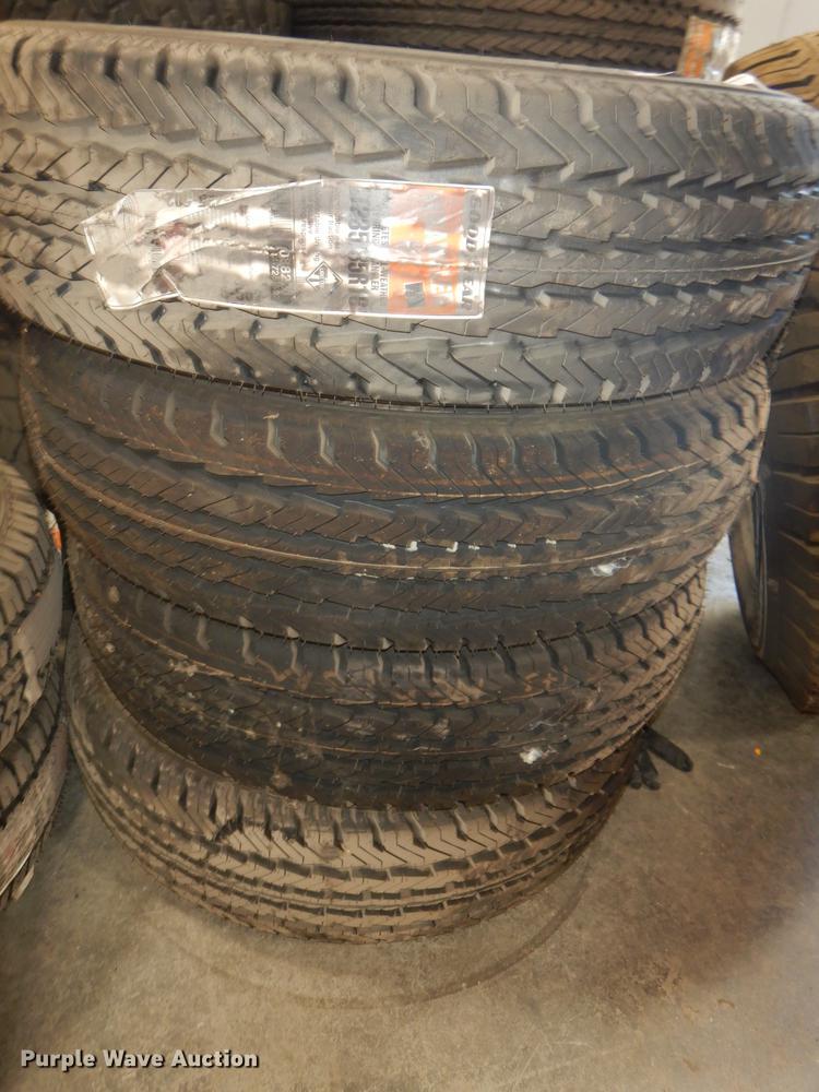 (4) Goodyear 235/85R16 tires