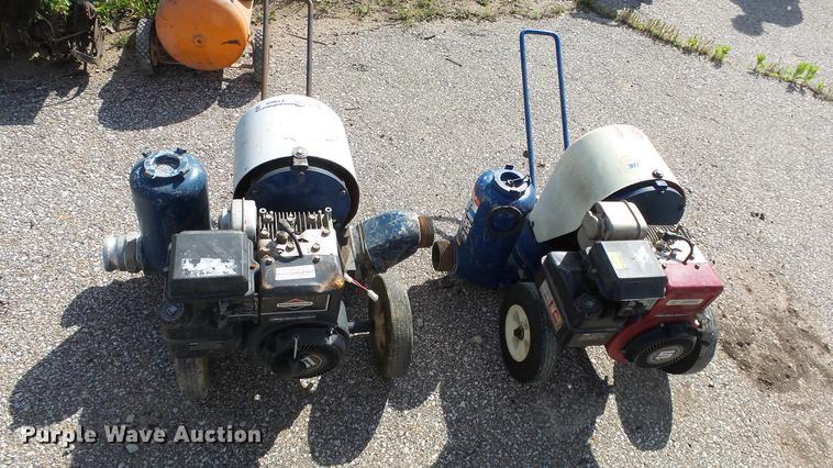 (2) Gorman-Rupp pumps