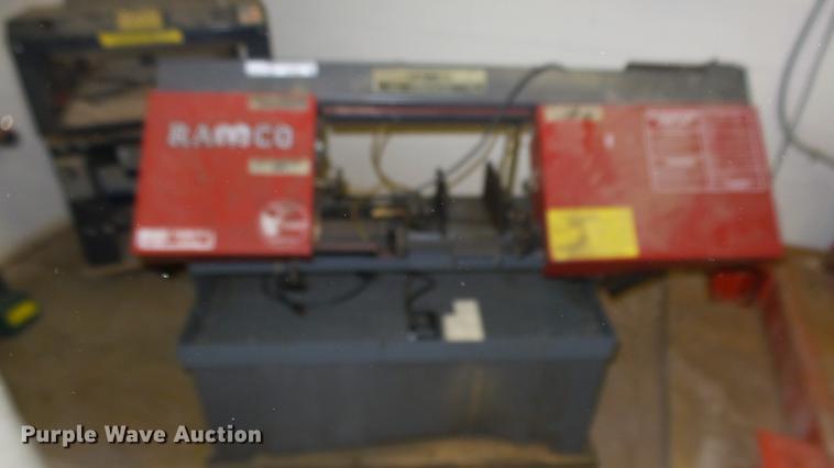 Ramco RS-90P metal cutting bandsaw