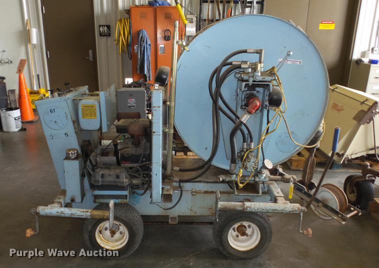 Sewer Equipment Co. of America JAJ-500 sewer easement machine