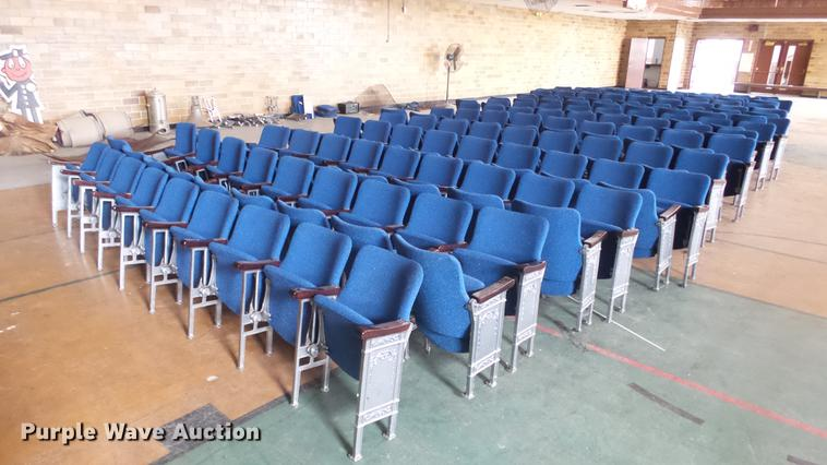 Approximately 222 theater seats