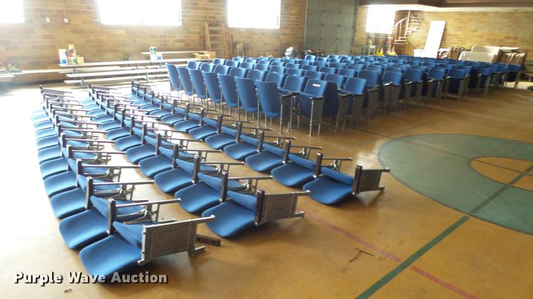 Approximately 260 theater seats
