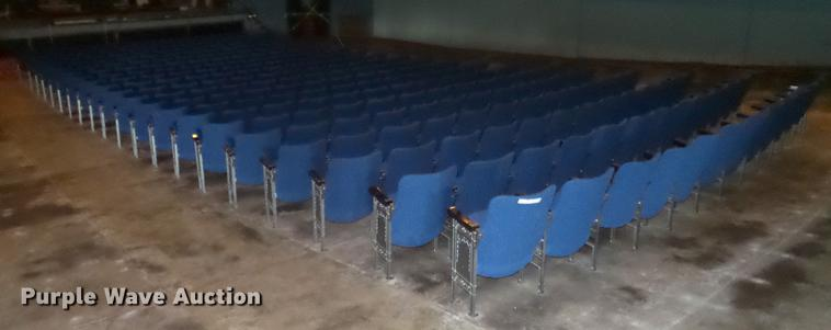 Approximately 272 theater seats