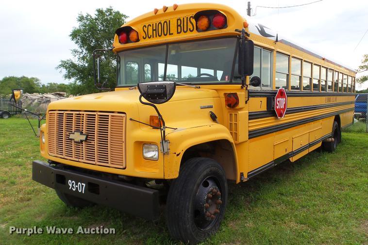 1993 Chevrolet school bus