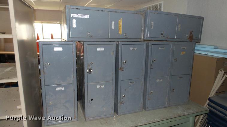 (7) Brodhead-Garrett foot lockers
