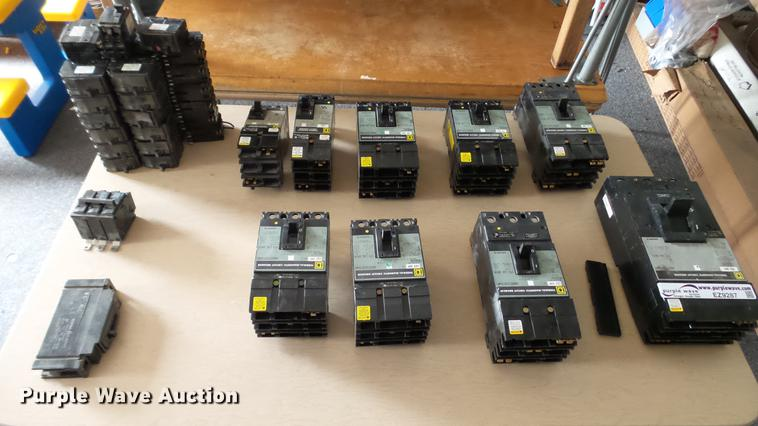 Approximately 25 circuit breakers
