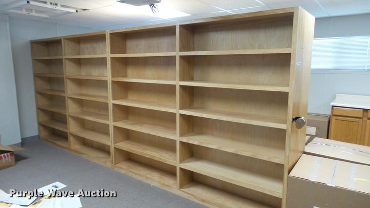 (2) bookshelves