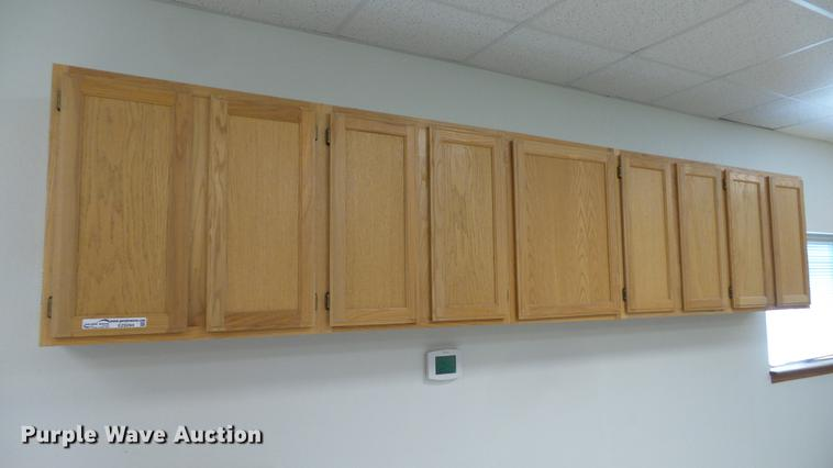 (3) wall cabinets