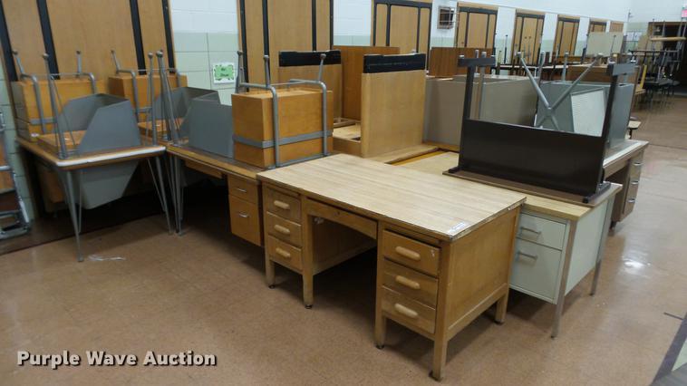 Approximately 30 desks