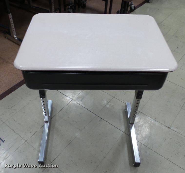 Approximately 50 student desks