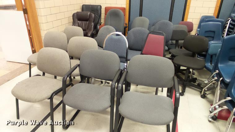 Approximately 25 chairs
