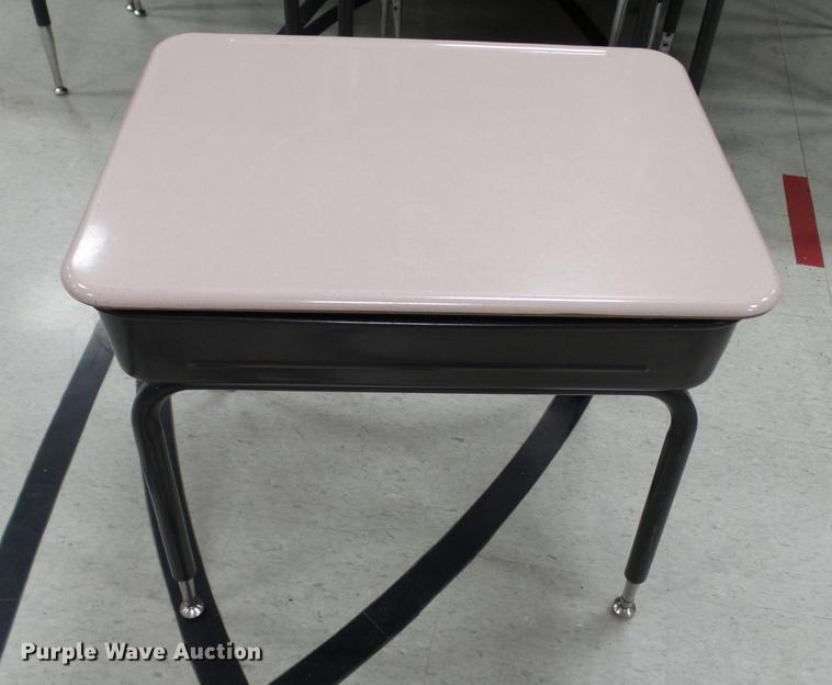 Approximately 75 desks