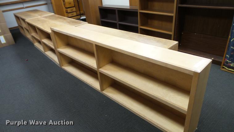 (6) bookshelves