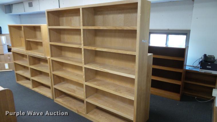 (5) bookshelves