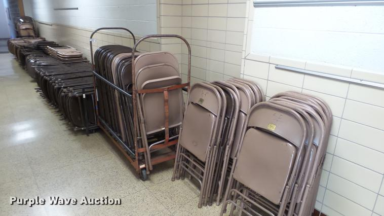Approximately 165 folding chairs