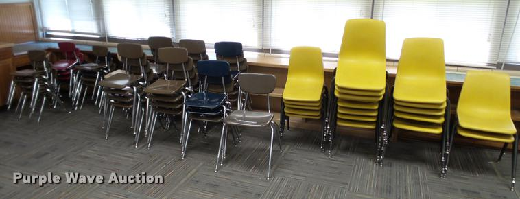 Approximately 90 chairs