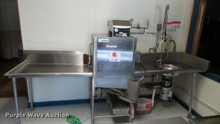 Jackson stainless steel dishwasher