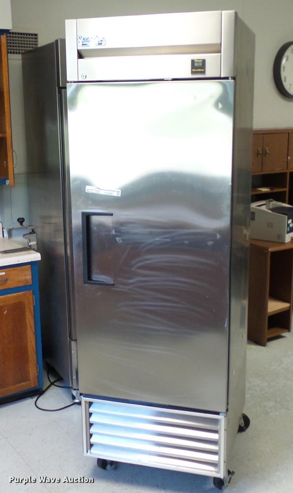 True TS-23 stainless steel refrigerator