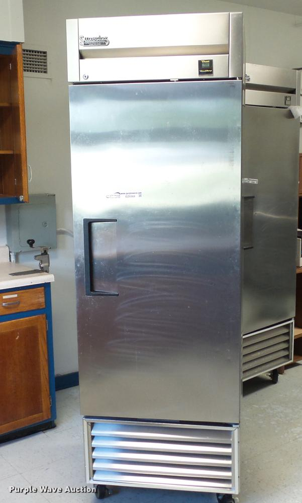 True TS-23F stainless steel freezer