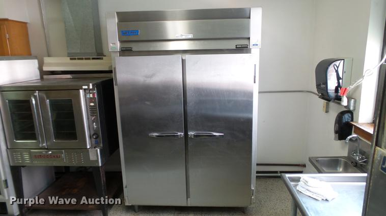 McCall D24-4045 stainless steel freezer