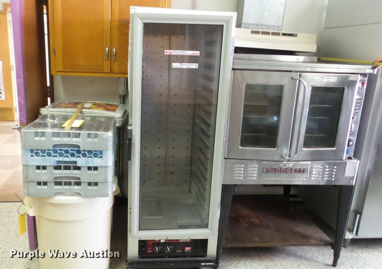 Metro C175 stainless steel heated cabinet