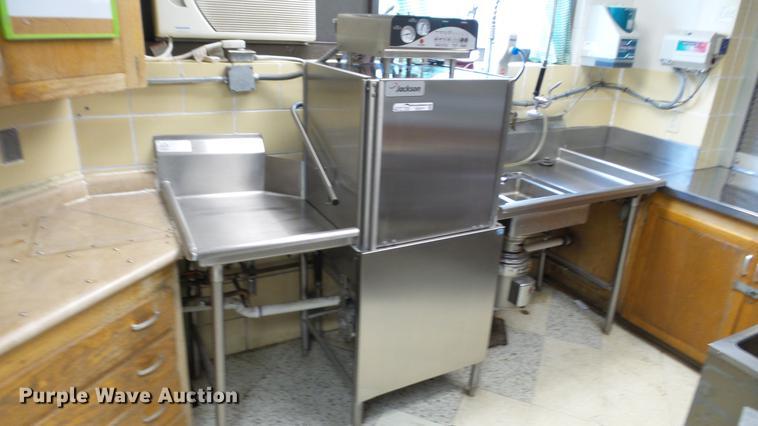 Jackson stainless steel dish washer