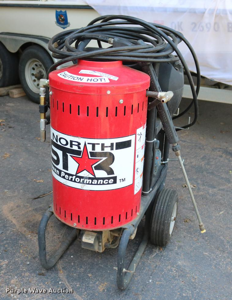 North Star pressure washer