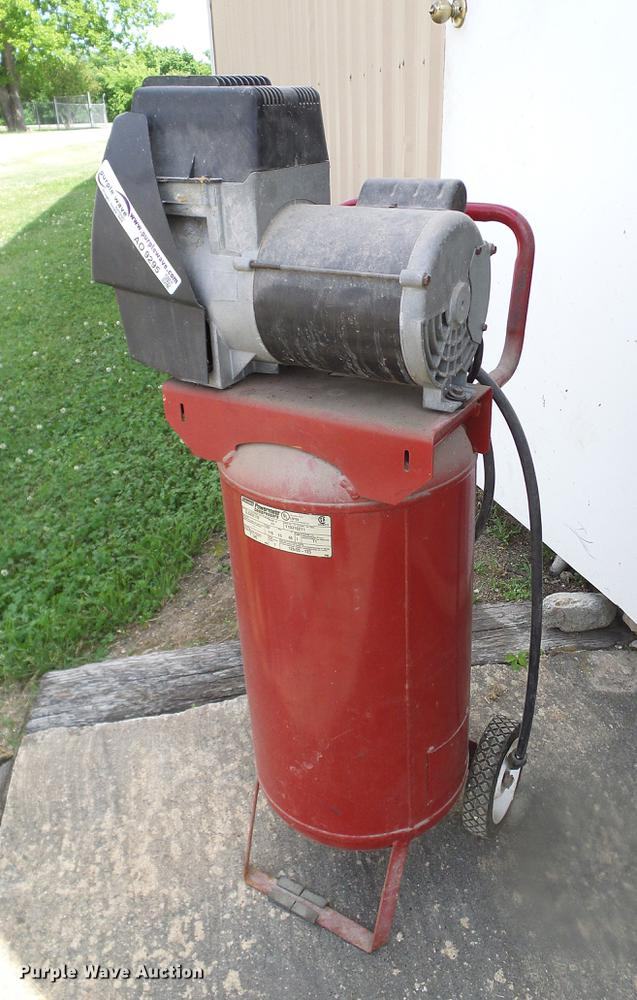 Coleman Powermatic air compressor