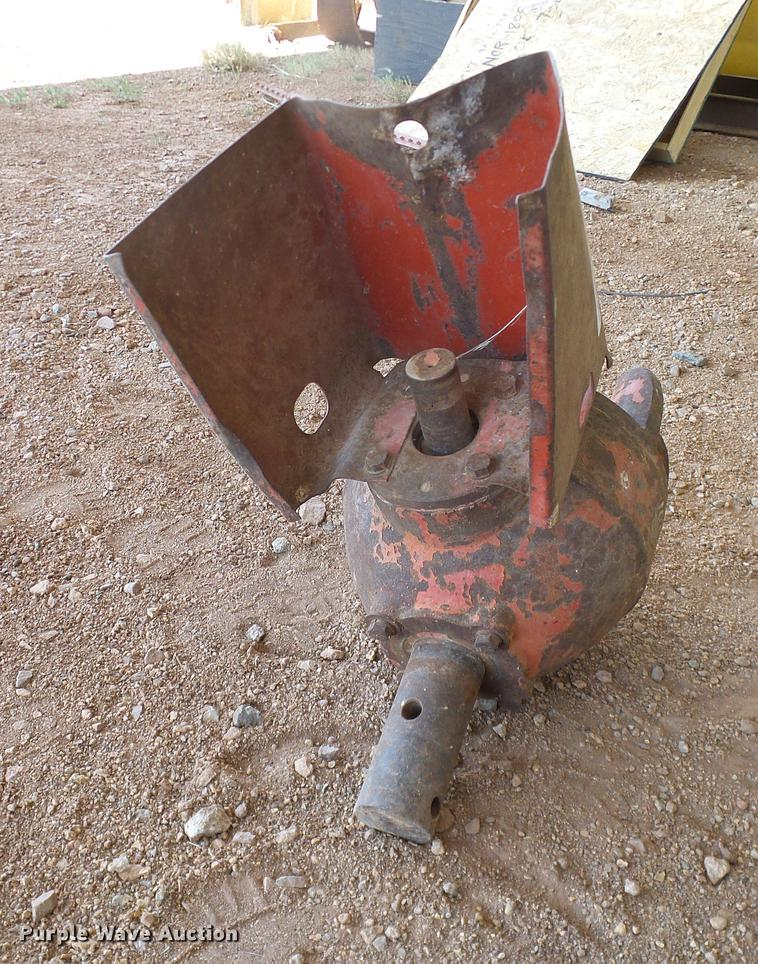 Bush Hog post hole auger