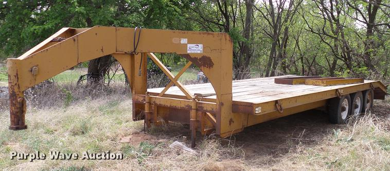 Belshe equipment trailer