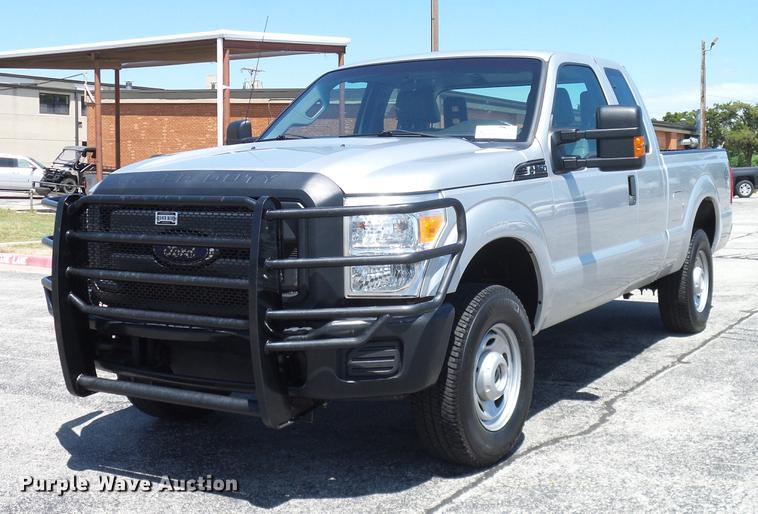 2012 Ford F250 Super Duty SuperCab pickup truck