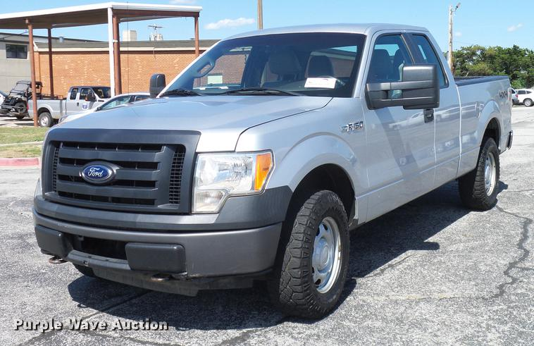2010 Ford F150 SuperCab pickup truck