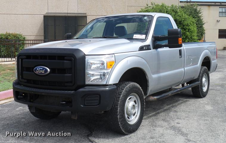 2011 Ford F250 Super Duty pickup truck