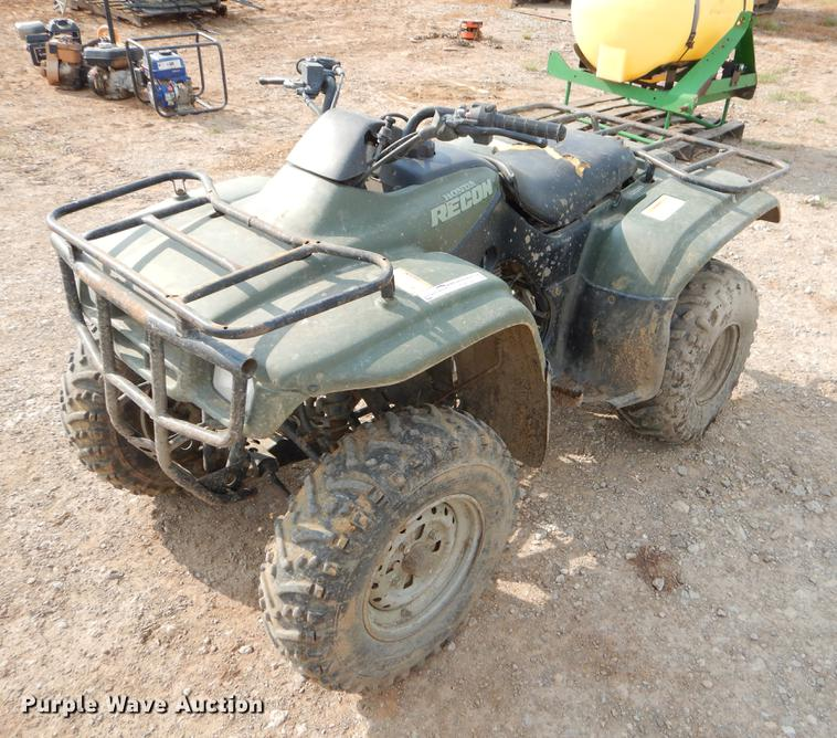 2002 Honda TRX250TM ATV