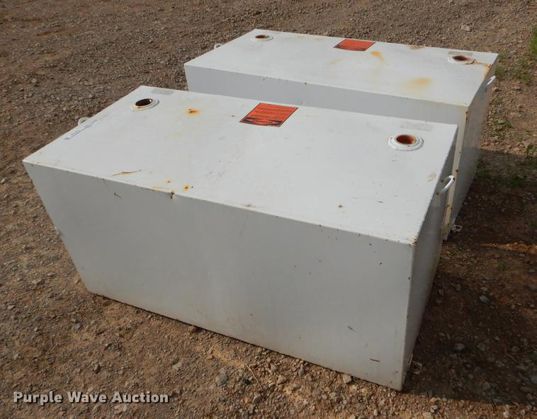 (2) steel fuel tanks