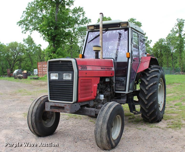 Massey-Ferguson 399 tractor