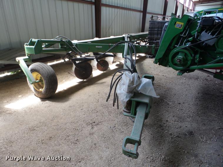 John Deere A2800 eight bottom plow