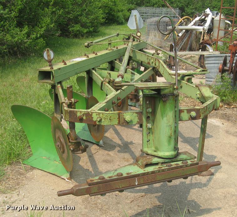 John Deere 5X16 five bottom plow